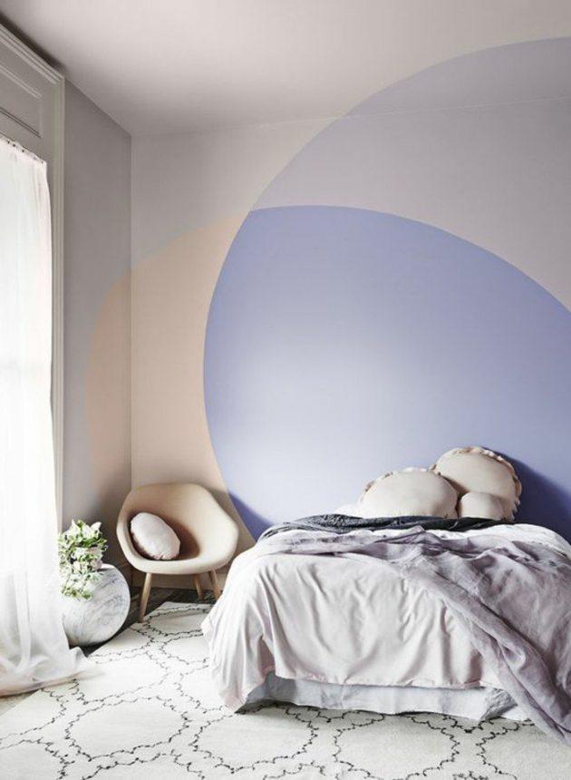 tete de lit en peinture a faire soi meme
