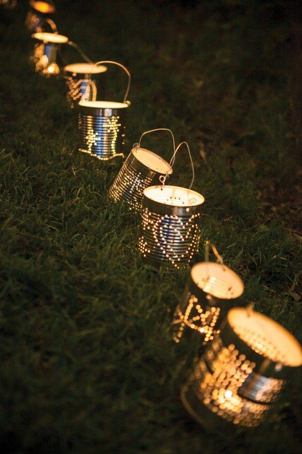 lanterna faire soi meme deco mariage bocal conserve