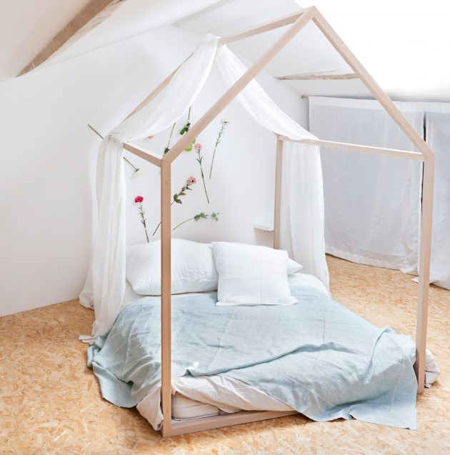lit cabane scandinave made in france blomkal