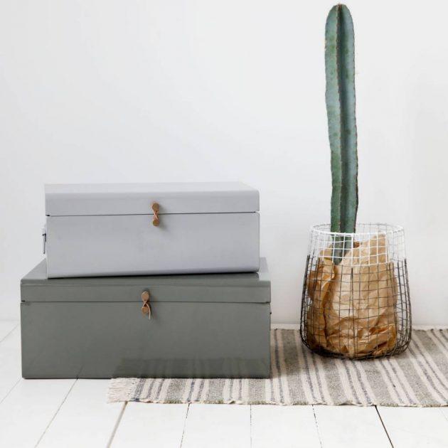 boites gigognes cactus cache pot papier minimaliste deco
