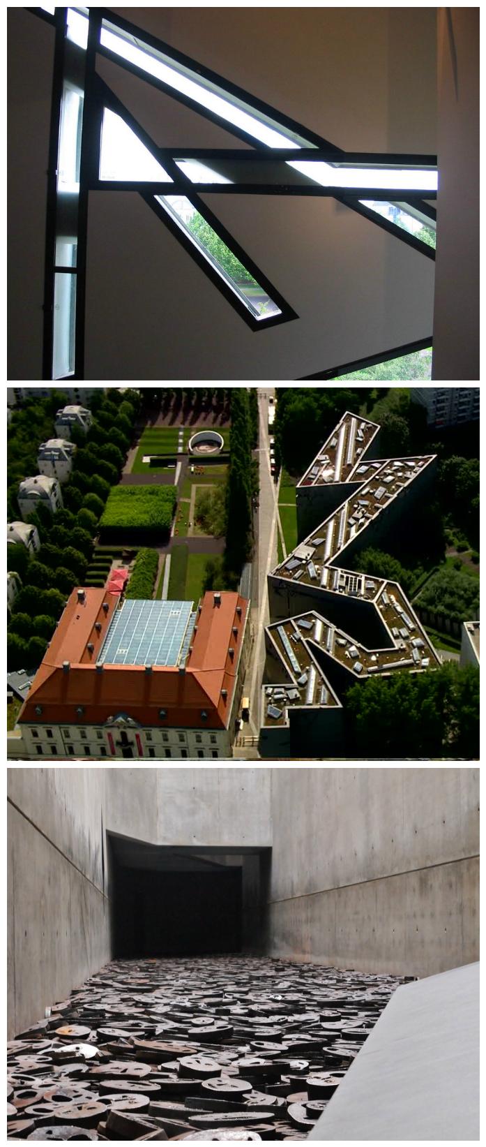Daniel Libeskind musee juif de berlin architecture