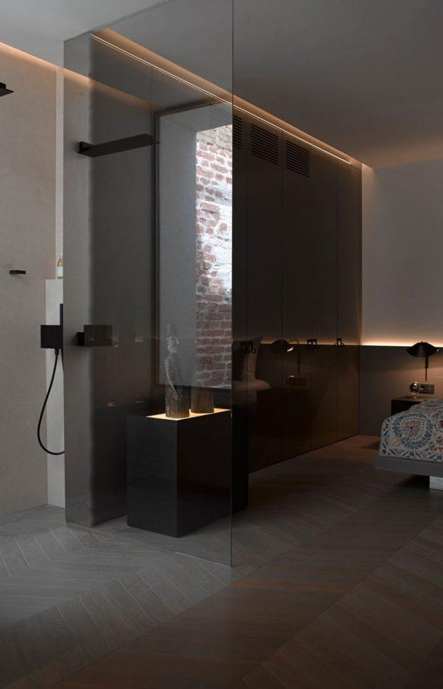 Visite d co un appartement minimaliste sous les toits for Appartement sous les toits