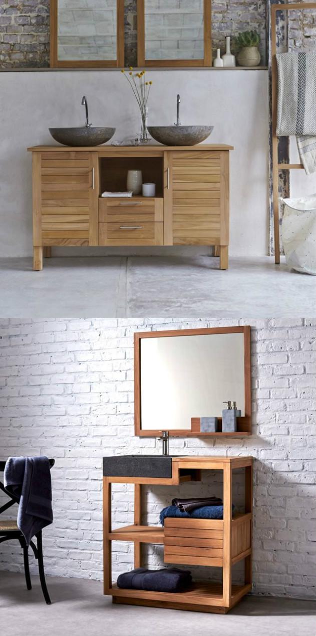 Meuble en teck entretien et petits conseils for Entretien parquet teck salle de bain
