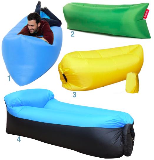 mini transat gonflable transport sac