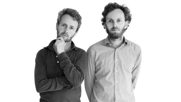 les frères bouroullec portrait noir et blanc