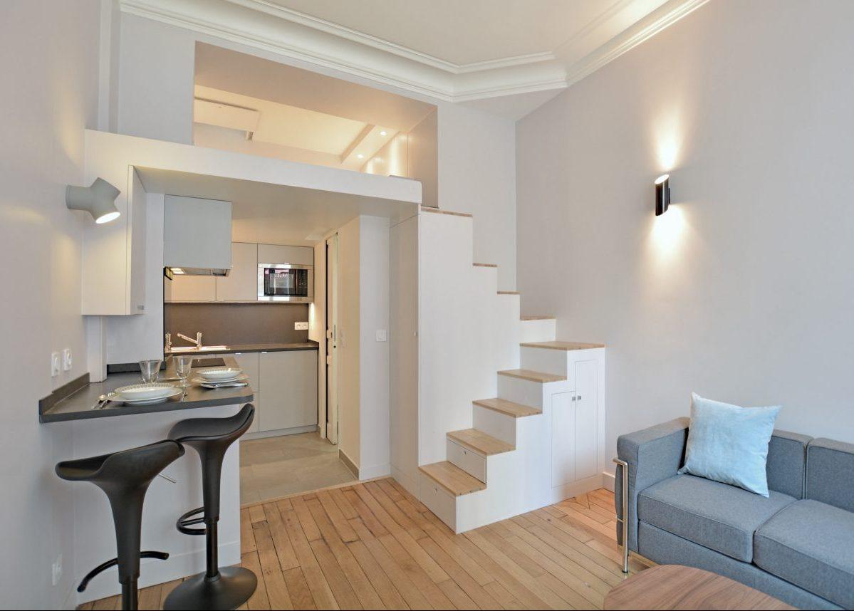 meubler un studio de 19m2 à Paris