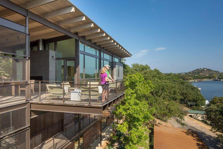 maison sur pilotis ponton terrasse vue panoramiquemaison sur pilotis ponton terrasse vue panoramique