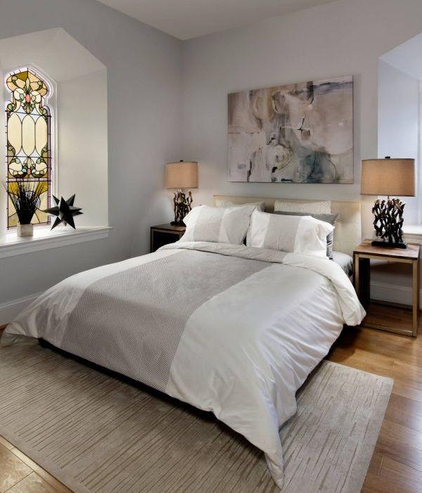 lit de chambre transformee vitraux couleurs