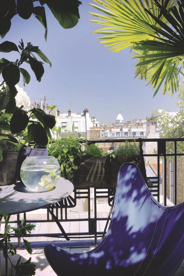 mini transat seance bronzage sur les toits de Paris
