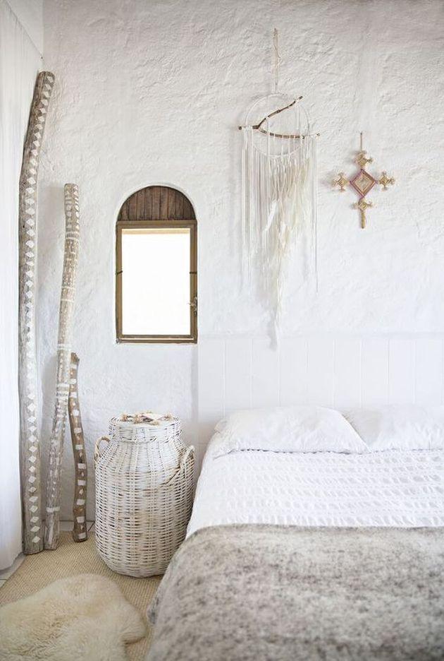 décoration bohème chambre adultes