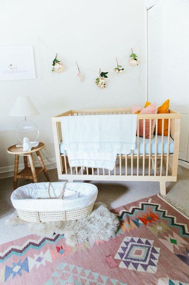 décoration bohème chambre enfant bebe