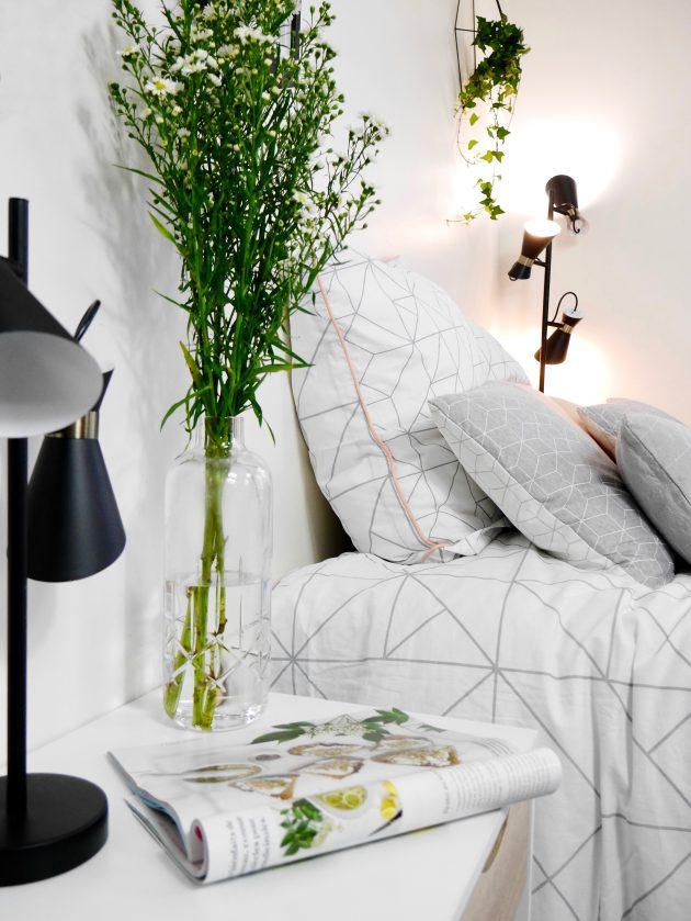 Comment aménager une chambre d'ado fille style scandinave graphique