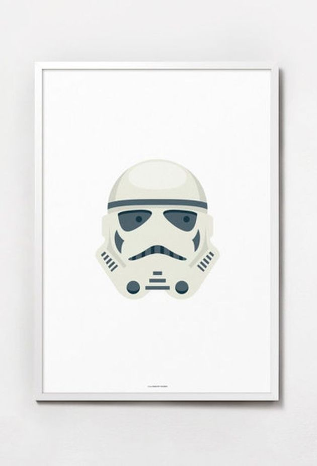 chambre masculine decoration star wars