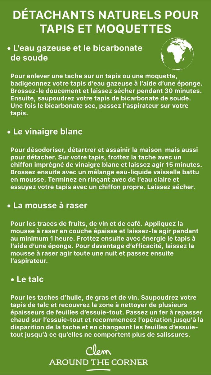 Comment Nettoyer Un Tapis 7 Astuces De Grand Mere Blog Deco Diy