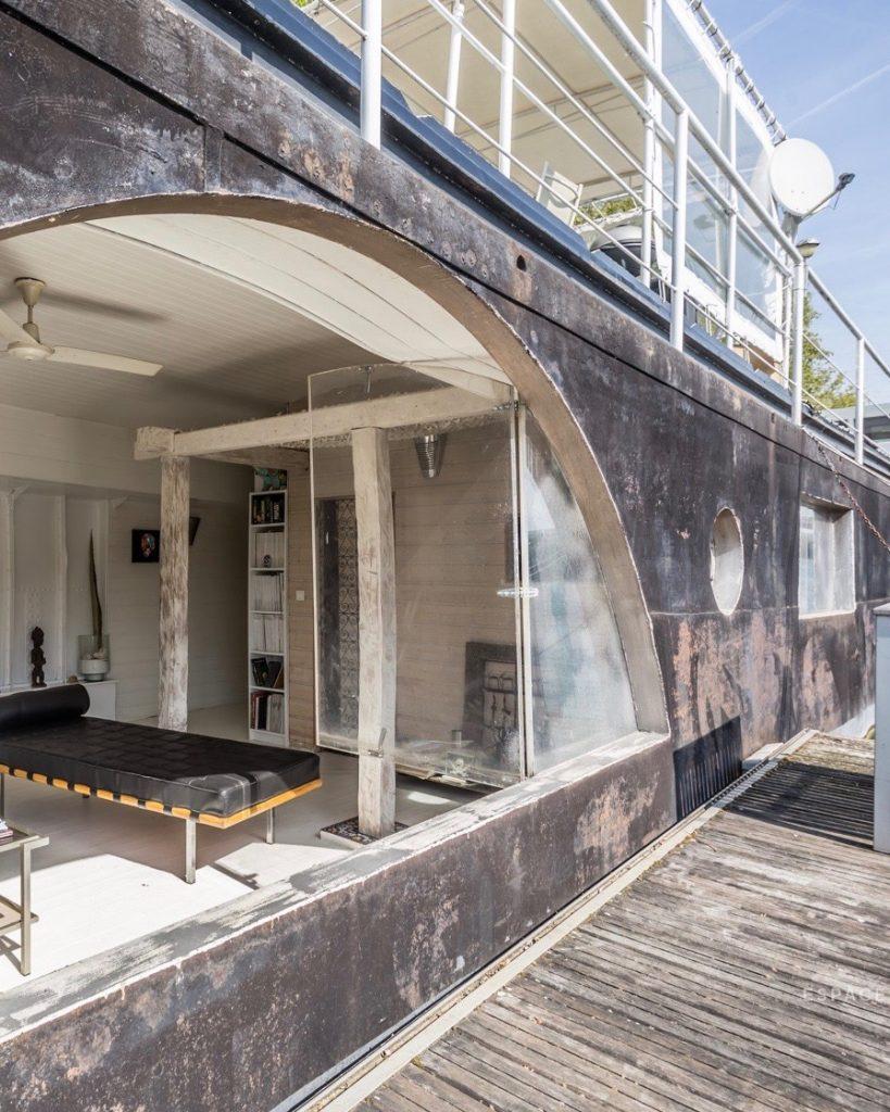espaces atypiques immobilier chambre peniche