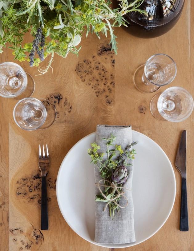 deco maison de campagne moderne repas