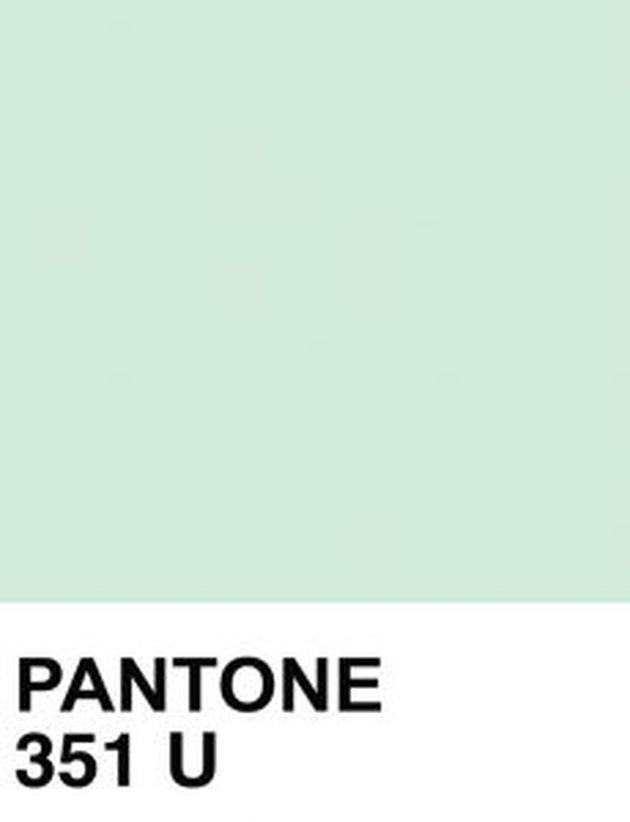 pantone couleur menthe 351 U référence teinte vert d'eau - blog déco architecture - clem around the corner