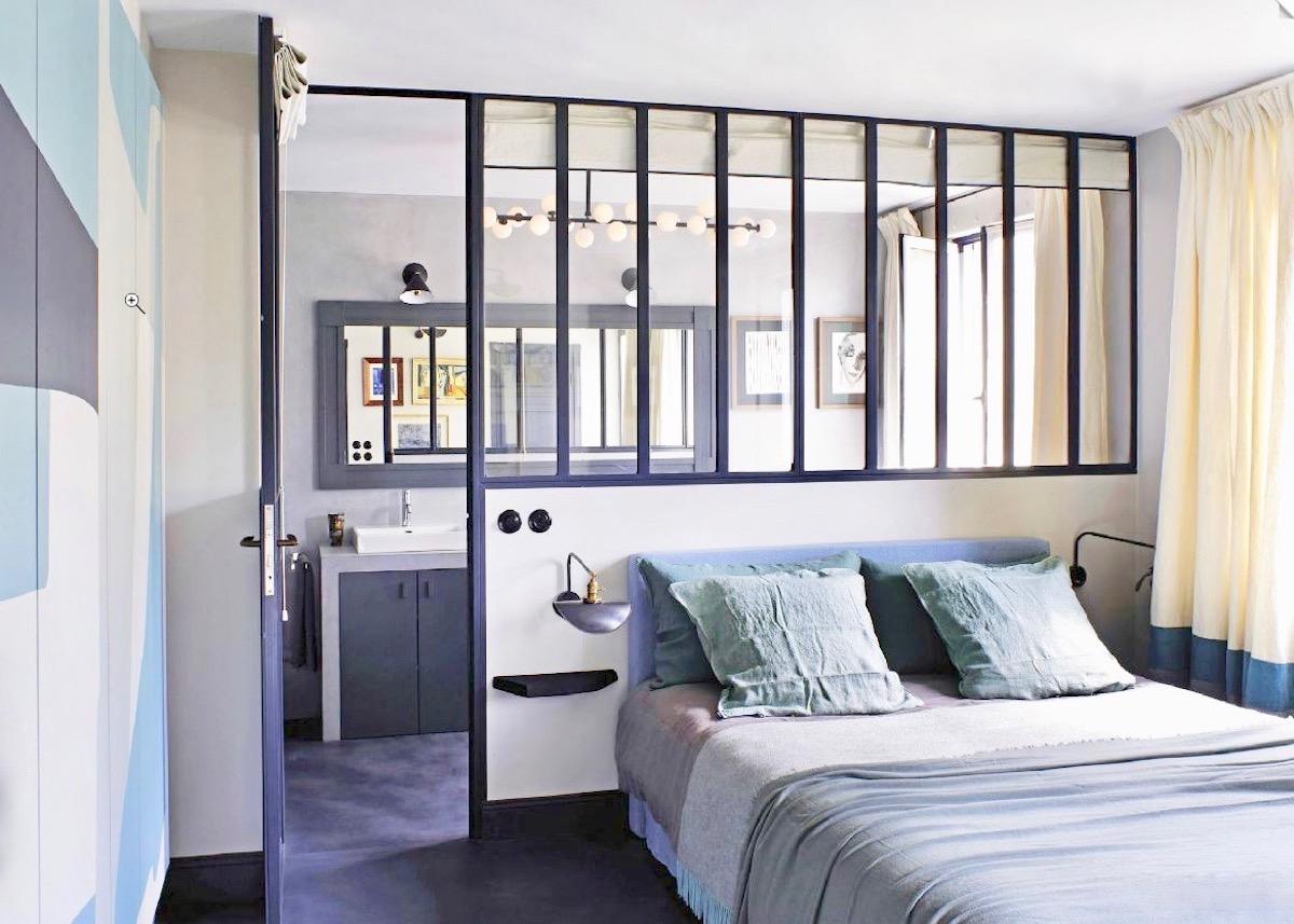 suite parentale chambre salle de bain avec verriere clemaroundthecorner.com