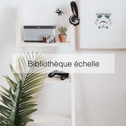 bibliotheque echelle diy rangement blog creation deco