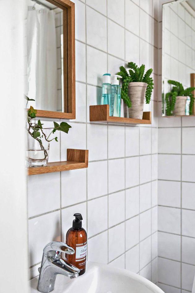 salle de bain dans bicoque