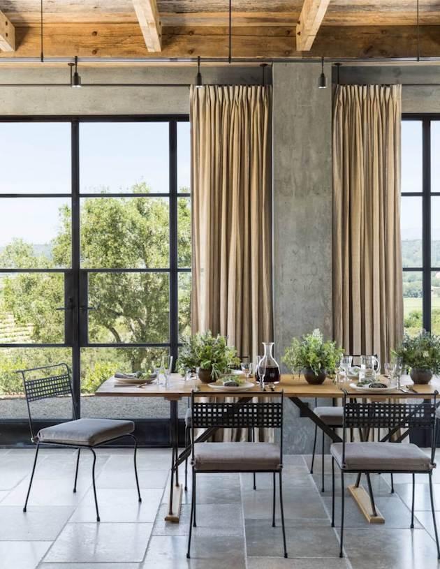 deco maison de campagne moderne salle à manger