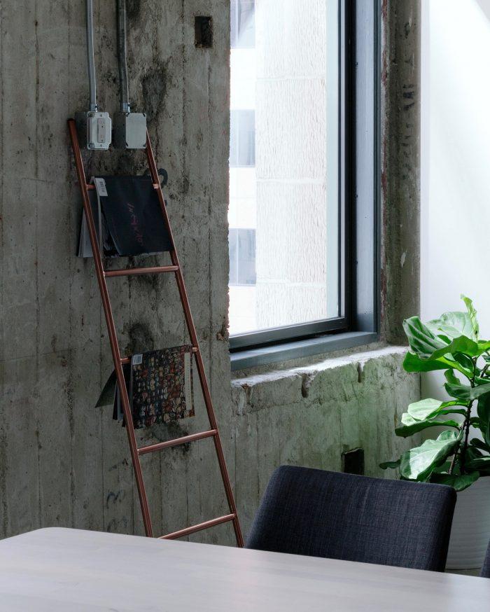 blog deco industriel loft etagere echelle cuivre diy