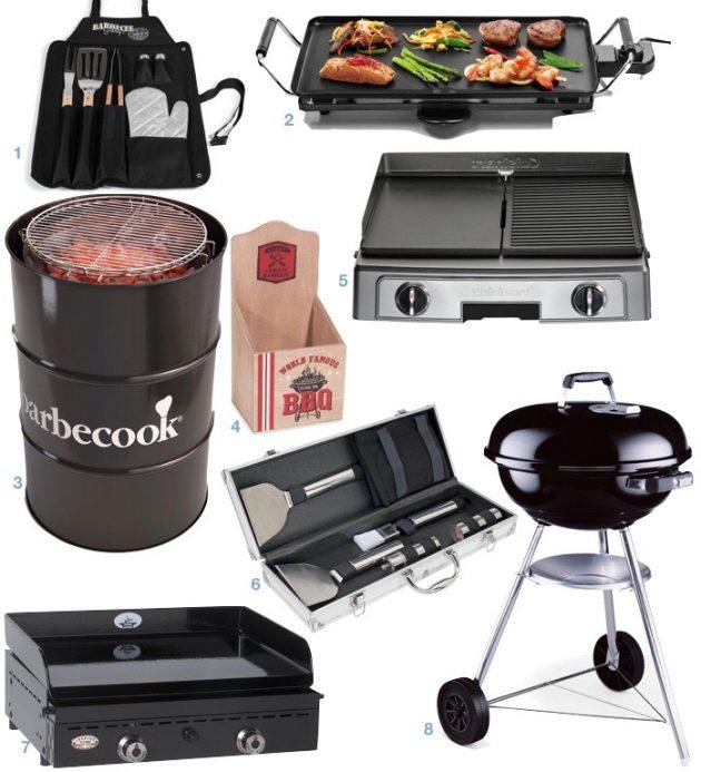 cuisiner à l'extérieur : les modes de cuisson barbecue plancha design