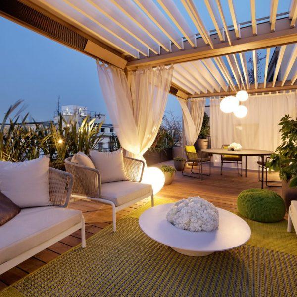 Christophe Gautrand terrasse hotel design paris mandarin oriental