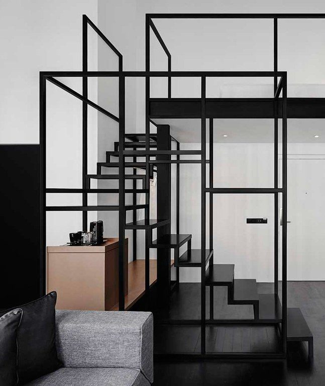 visite deco hotel black and white Mono Singapour instagrammable