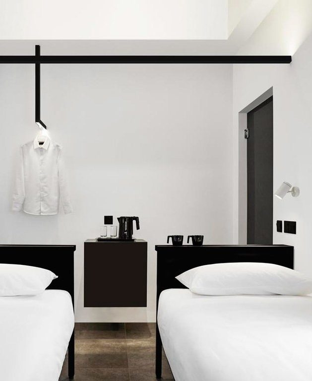 hotel mono design singapour moderne instagrammable