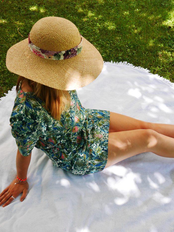 indispensables de l'été capeline raphia en france