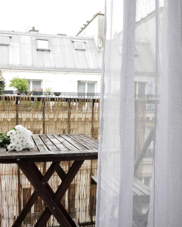 11m2 balcon chaise table exterieur bois