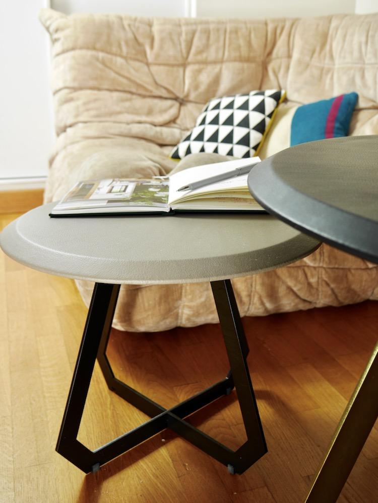 salon canapé angle togo ligne roset velours beige - blog déco design - clem around the corner