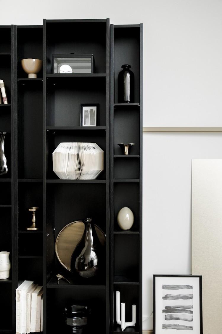 Dressing Ikea Angle Sans Porte ikea hack billy : 15 transformations originales - clem atc