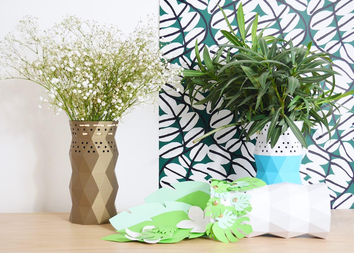 diy vase a faire soi même pour la decoration scandinave
