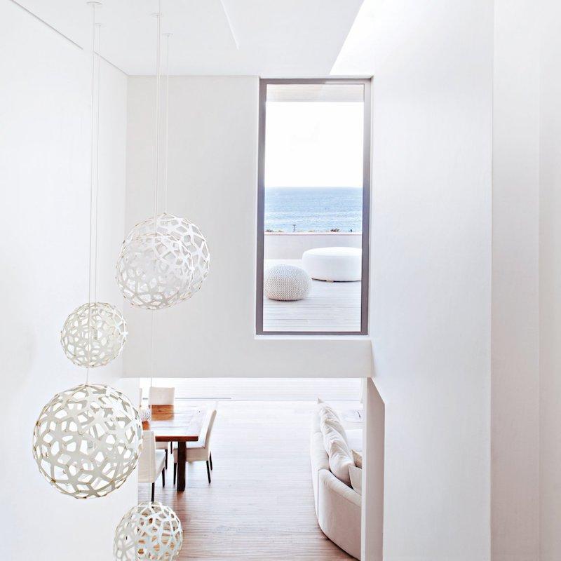 escalier ouverture fenetre vue sur mer