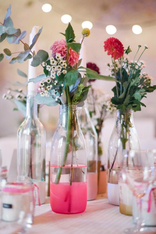 deco fluo mariage champetre original moderne