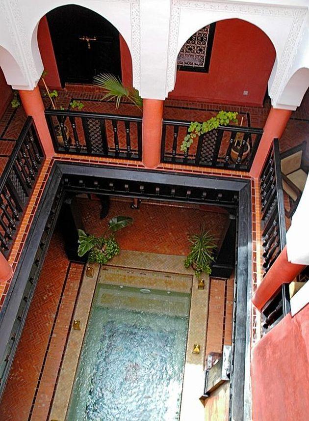 maison marocaine piscine blog deco