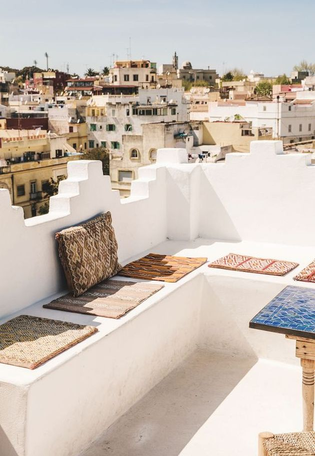 toit maison marocaine blog deco