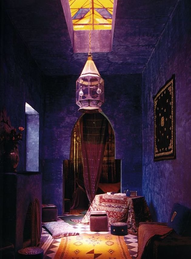 maison marocaine colore blog deco