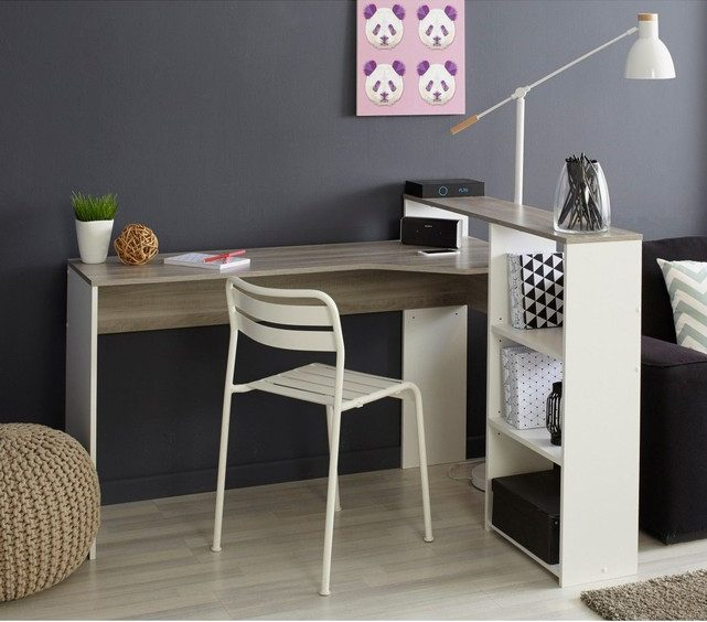 o trouver un petit bureau d angle clem around the corner. Black Bedroom Furniture Sets. Home Design Ideas