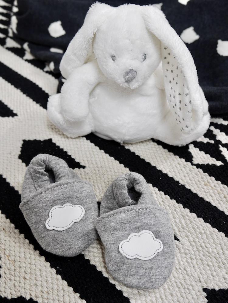 déco chambre bébé monochrome animaux