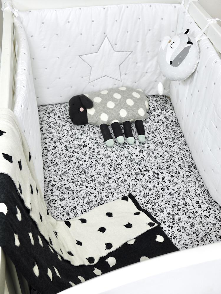 Deco Chambre Bebe En Noir Et Blanc Blog Deco Clem Atc