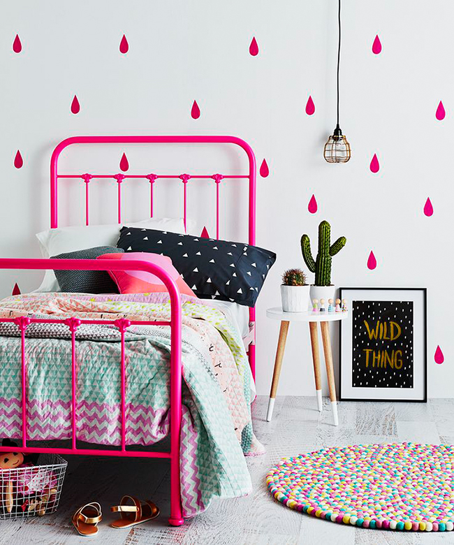 d co fluo la touche originale blog clem around the corner. Black Bedroom Furniture Sets. Home Design Ideas
