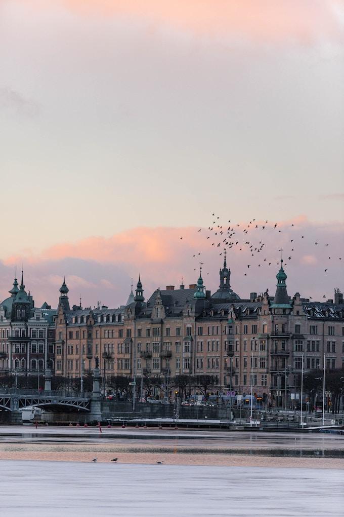 stockholm coucher de soleil lagom art de vivre suedois