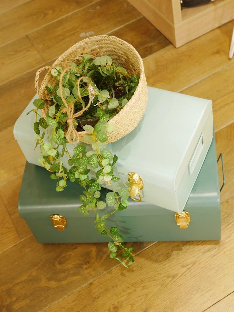 chambre cosy maison du monde valise vinateg mint menthe