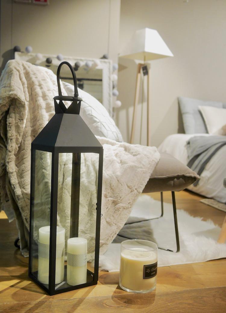 chambre cosy maison du monde coin lecture lanterne