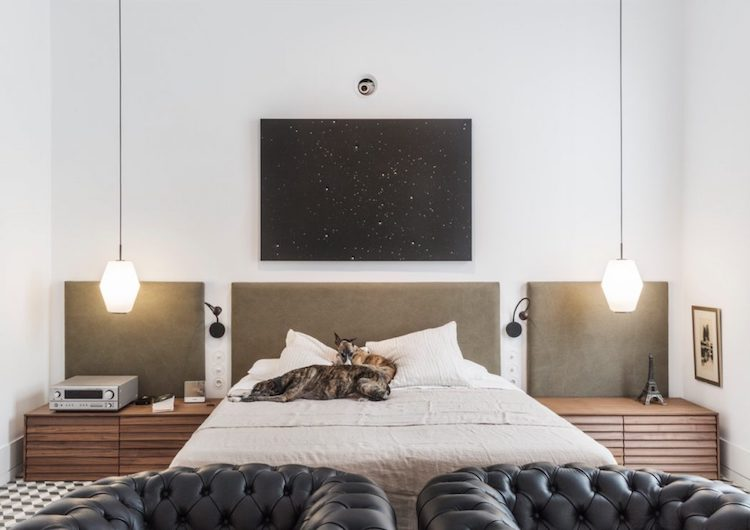 visite blog deco symétrie axiale chambre cosy minimaliste