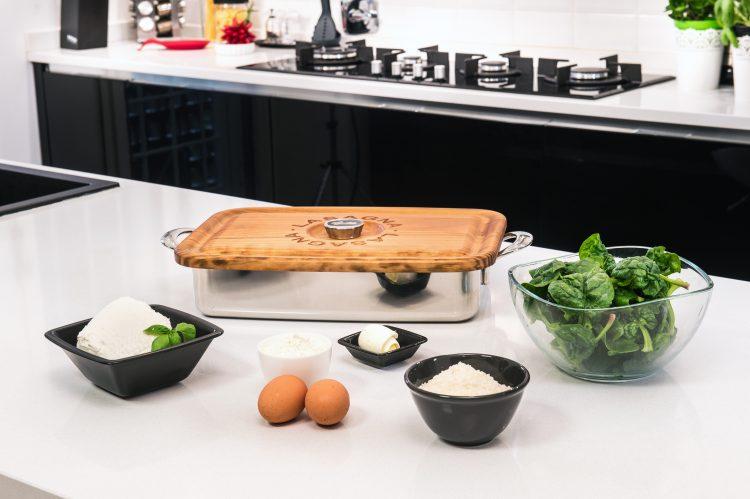 Lasagnera plat lasagne miroir lagostina accessoires de cuisine design