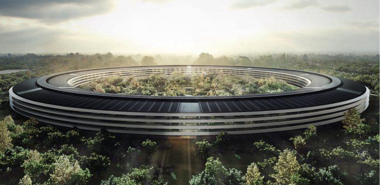 apple park soucoupe volante architecture cupertino
